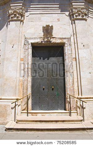 Church of Madonna del Soccorso. San Severo. Puglia. Italy.