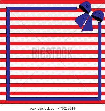 Patriotic background for Fourth of July