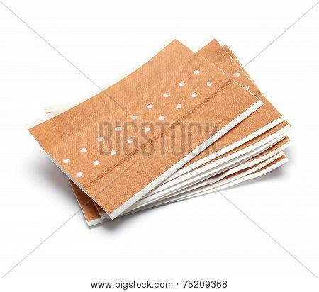 Bunch Of Brown Band Aids