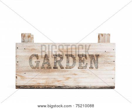 Wooden Graden Crate