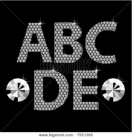 Diamond Alphabet