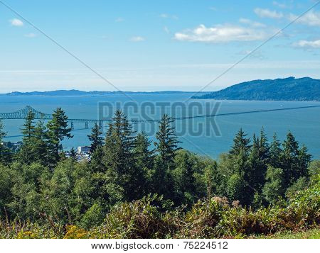 A View Of Astoria Oregon From The Astoria Column