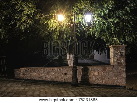 Streetlight At Night