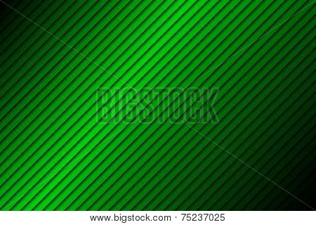Green line abstract background