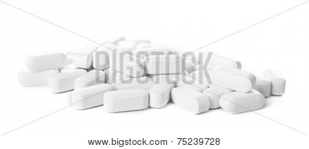 Pile of pills, close-up