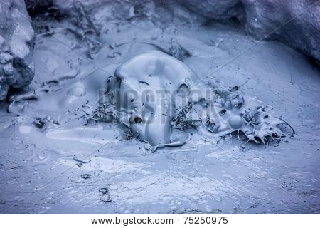 Hot Boiling Mud In Iceland3