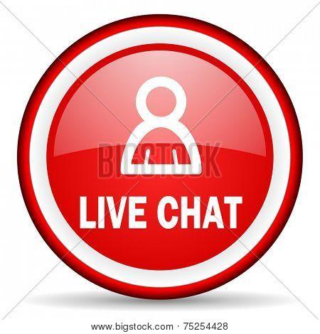 live chat web icon