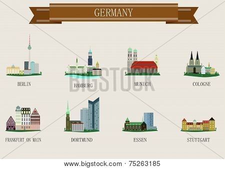 City symbol. Germany