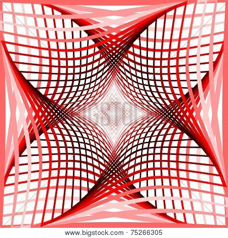 Design Colorful Twirl Grid Background