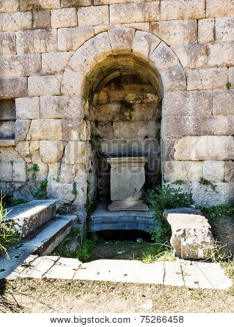 Asclepeion At Kos Island In Greece