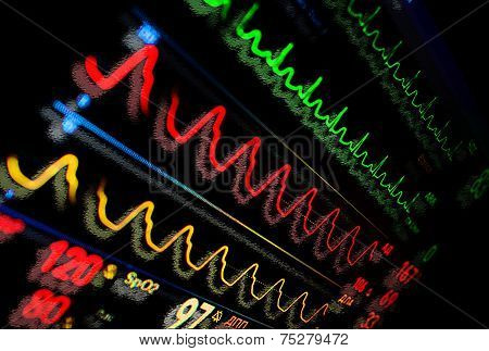 Monitor In Medicine. Abstract Medical Background