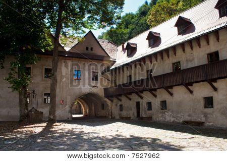 Polish Pieniny Mountains Castle