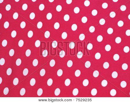 Pink And White Polka Dots