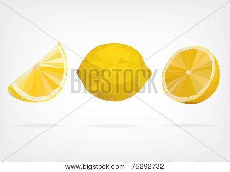 Low Poly Lemon