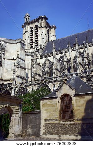 Cathedral in Troyes
