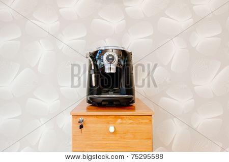 Espresso, Cappuccino And Americano Coffee Maker Machine