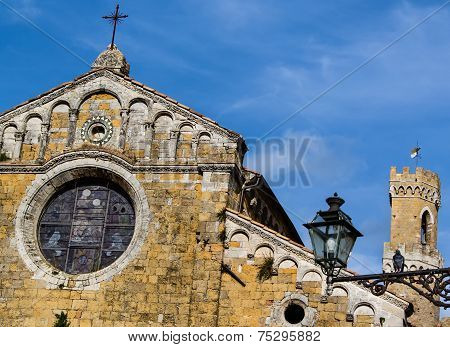 Cathedral Of Volterra, Italy