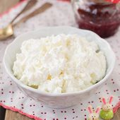pic of curd  - Homemade Cottage Cheese  - JPG