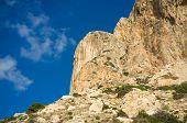 pic of costa blanca  - The peak of Penon de Ifach Costa Blanca Spain - JPG