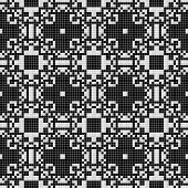 pic of lace-curtain  - White lace curtain abstract seamless pattern on a black background - JPG