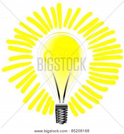 Light Bulb That Lights