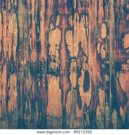 Old ancient texture, may be used as abstract grunge background. With different color patterns: yellow (beige); brown; gray; purple (violet)