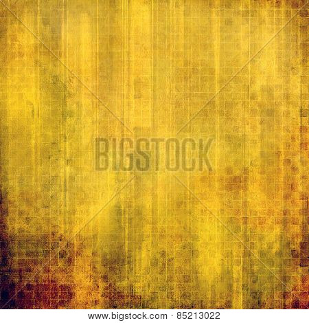 Antique vintage texture, old-fashioned weathered background. With different color patterns: yellow (beige); brown