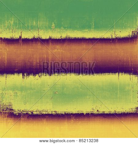 Grunge texture, may be used as background. With different color patterns: yellow (beige); brown; purple (violet); green
