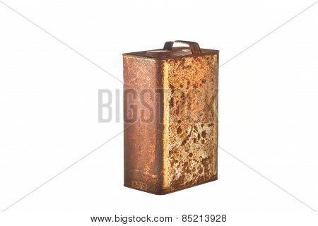Rusty Bucket Isolated