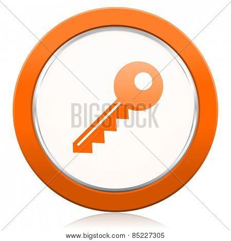 key orange icon