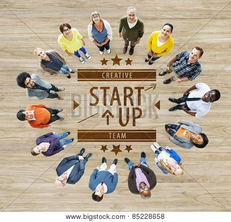 Start Up Plan Strategy Business Opportunity Growth Concept