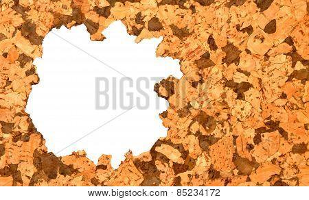 Cork Tile Background