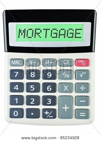 Calculator With Mortgage