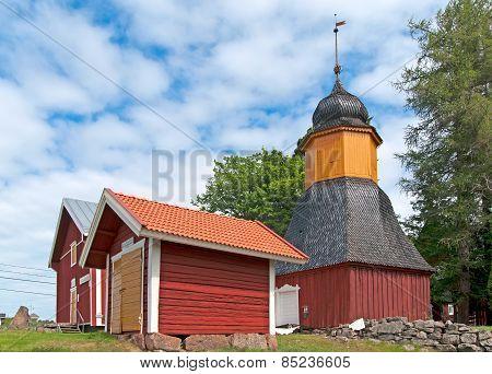 Irjanne, Eurajoki. Finland. Museum complex