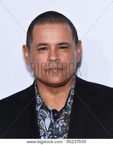 LOS ANGELES - FEB 14:  Raymond Cruz arrives to the Make-Up Artists & Hair Stylists Guild Awards 2015  on February 14, 2015 in Hollywood, CA
