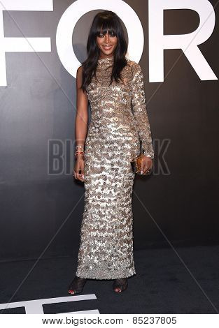 LOS ANGELES - FEB 20:  Naomi Campbell arrives to the Tom Ford Autumn/Winter 2015 Womenswear Collection Presentation  on February 20, 2015 in Hollywood, CA