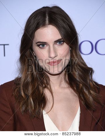 LOS ANGELES - MAR 08:  Allison Williams arrives to the Paleyfest 2015