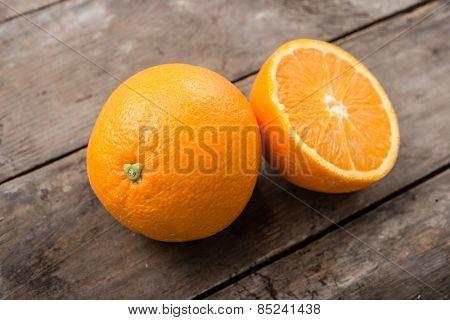 Fresh, juicy orange