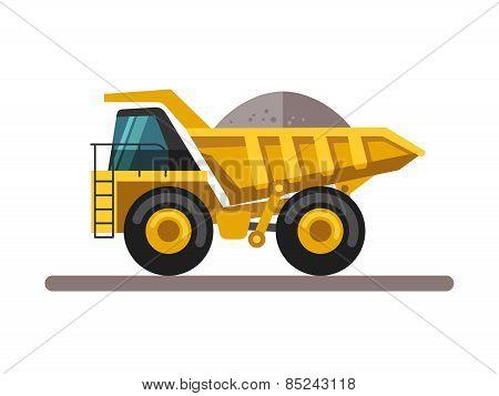 Building machines - truck.