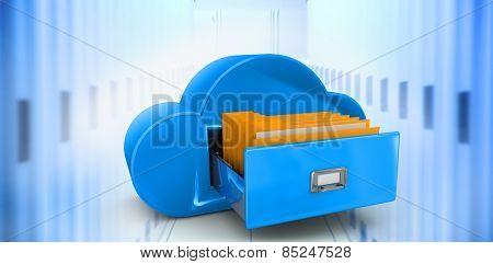 Cloud computing drawer against data center