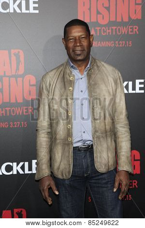 LOS ANGELES - MAR 11:  Dennis Haysbert at the