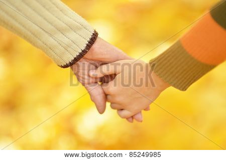 Hands of people