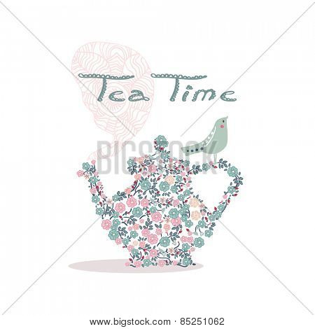 tea time card