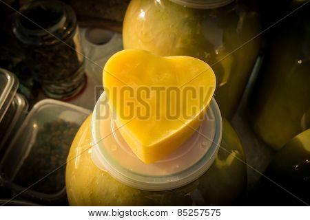 Bee Wax Heart