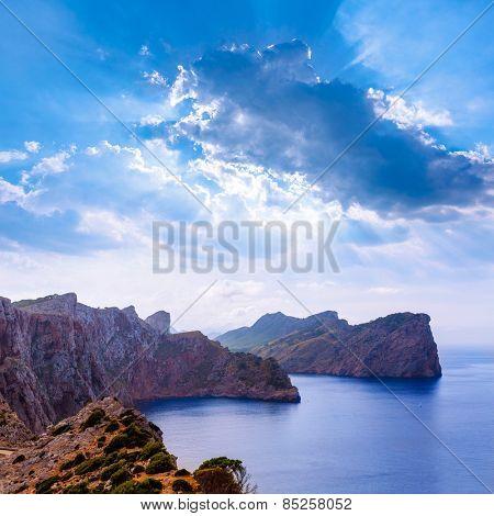Majorca Formentor Cape in Mallorca Balearic island of spain