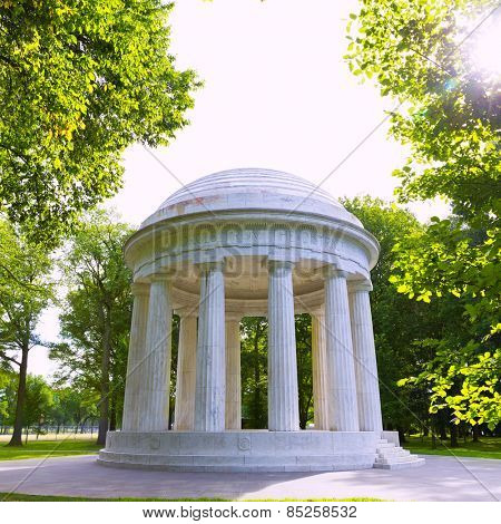 DC District of Columbia War Memorial in Washington US USA