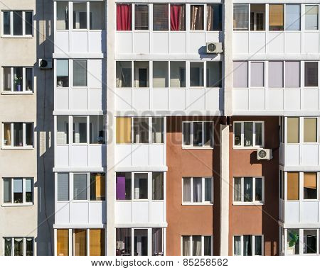 Apartment Buildings Pattern