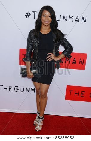 LOS ANGELES - MAR 12:  Monique Coleman at the