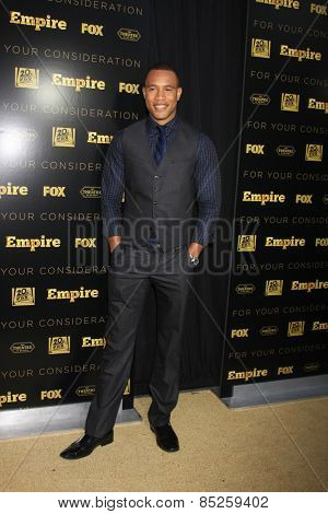 LOS ANGELES - MAR 12:  Trai Byers at the