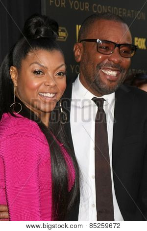LOS ANGELES - MAR 12:  Taraji P Henson, Lee Daniels at the